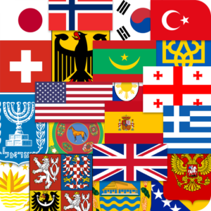 Flags of the World & Emblems of Countries: Quiz 2.01 MOD APK For Android