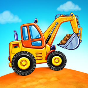 Truck games for kids – build a house, car wash 1.0.16 UNLIMITED APK For Mobile Phone