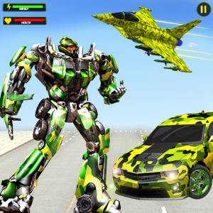 US Army Jet Robot Transforming Wars 1.6.4 MOD APK For Mobile Phone