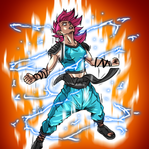 Burst To Power – Anime fighting action RPG 1.04a APK MOD For Android