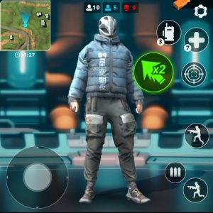 Modern Fire: Free Battle Royale & Shooting games 2.2.6 UNLIMITED APK For Cellphone